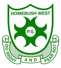 Homebush West Public School logo